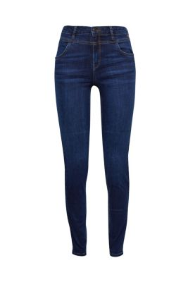 Shaping-Jeans mit hoher Taille bei Esprit