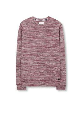 sweat-shirt imprimé bicolore