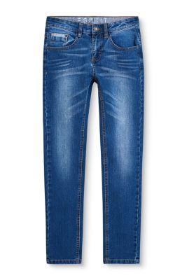 Stretch-Jeans mit Medium-Waschung bei Esprit