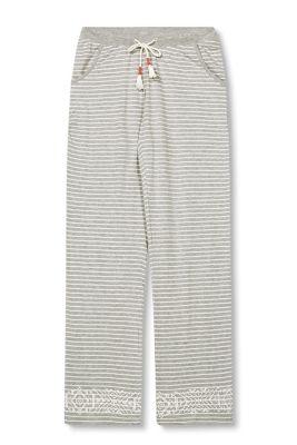 Esprit Zachte jersey broek van een