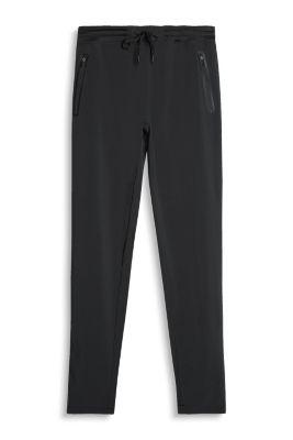 Esprit Active broek met elastische band, E-DRY Black for Women