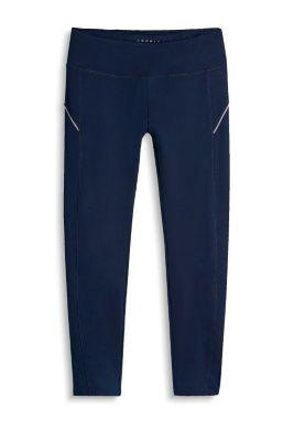 Esprit 7/8-legging met grafische print, e DRY Navy for Women