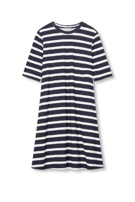 Esprit Uitlopende jersey jurk Navy
