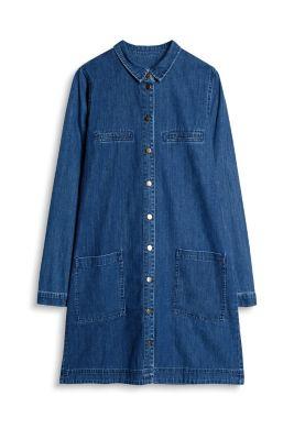 Esprit Denim jurk van 100% katoen