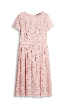 Roze kanten jurk esprit