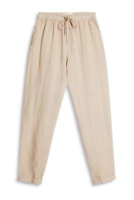 Esprit Relaxte broek van 100%