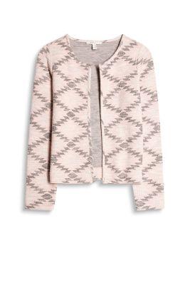 Esprit Open jersey jasje met