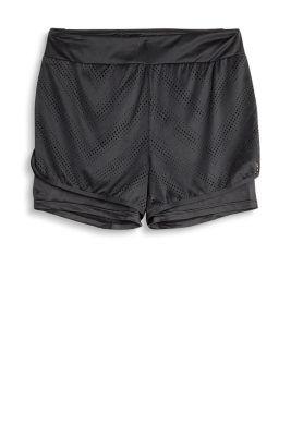 Esprit Short met laagjes en E-DRY Black for Women