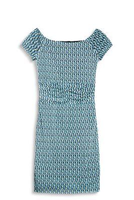 Esprit Printed jurk van lichte