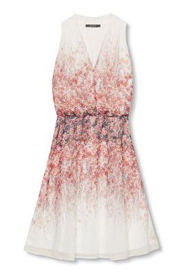 Esprit Soepele jurk van georgette