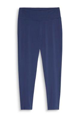 Esprit 7/8-legging, brede elastische band, E-DRY Navy for Women
