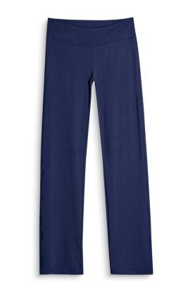 Esprit Active broek met rechte pijpen, E-DRY Navy for Women