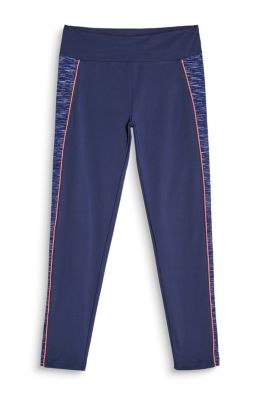 Esprit 7/8-legging met brede band, E-DRY Navy for Women