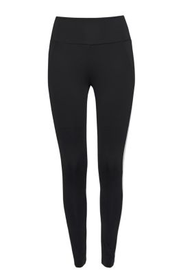 Esprit Active legging met colour blocking, E-DRY Black for Women