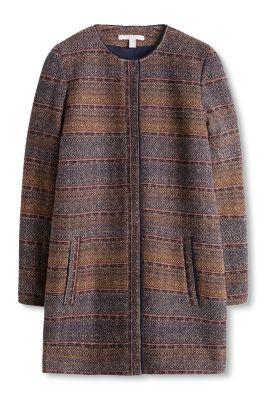 Esprit Jacquard mantel van een