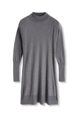 Esprit Fijngebreide jurk met
