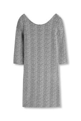 Esprit Gestructureerde jersey jurk