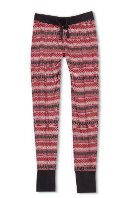Esprit Pyjamabroek van 100% katoen