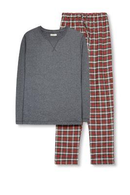 Esprit Pyjama van materiaalmix