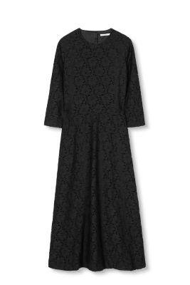 Esprit Kanten jurk met uitsnede
