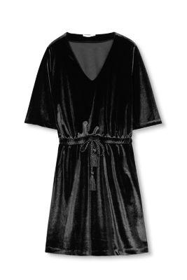Esprit Fluwelen jurk met