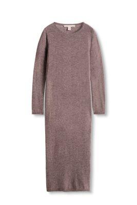 Esprit Lange gebreide jurk met