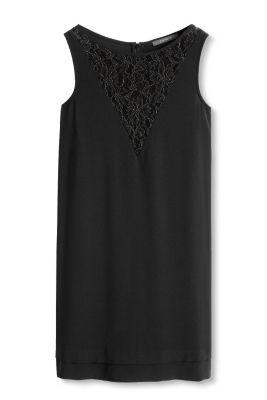 Esprit Soepele jurk met kanten