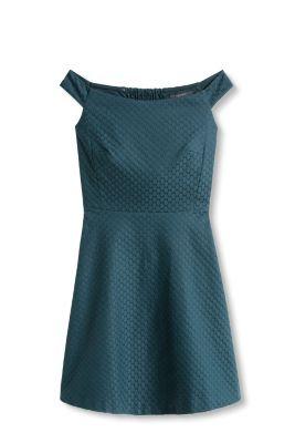 Esprit Jacquard offshoulder jurk