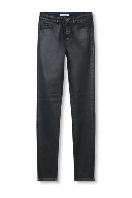 Esprit Modieuze broek met coating