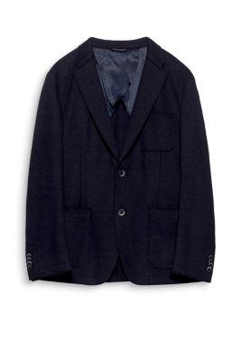 Esprit Doubleface blazer hoogwaardige wolmix Navy for Men