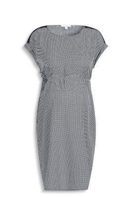 Esprit Soepele jurk met fijn