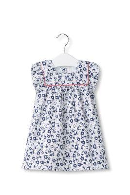 Esprit Gebloemde jurk van 100%