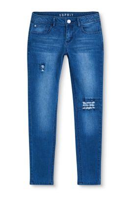 Esprit Mädchen,Kinder Stretch-Jeans im Destroyed-Look  | 3663760632057