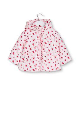 Esprit Baby,Kinder Steppjacke mit abnehmbarer Kapuze pink   3663760612783