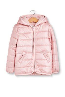Esprit Gewatteerde jas met fleece