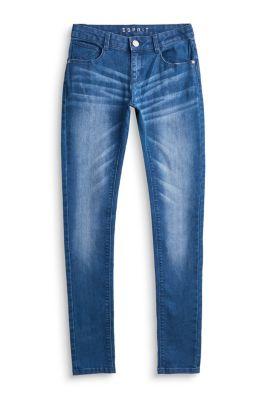 Esprit Mädchen,Kinder Basic Stretch-Jeans mit Verstellbund  | 3663760683806