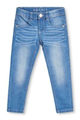 Esprit Mädchen,Kinder Stretch-Jeans mit leichten Wascheffekten blau | 3663760711332