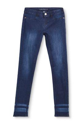 Esprit Mädchen,Kinder Stretch-Jeans mit leichter Used-Waschung indigo | 3663760769630