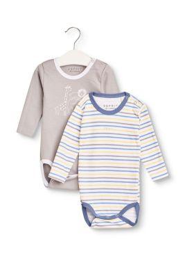 Esprit Baby,Kinder 2er-Pack Bodys mit Organic Cotton  | 3663760768527