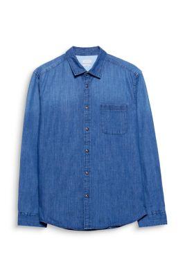 Chemise en jean de pur coton