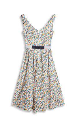 Robe mille-fleurs de style années 50