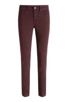 Esprit 5-pockets van katoen-stretch Berry Purple for Women
