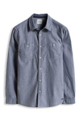 Chemise à rayures, 100 % coton