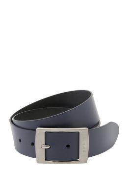 Large ceinture en cuir
