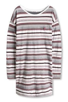 Chemise de nuit en jersey 100 % coton
