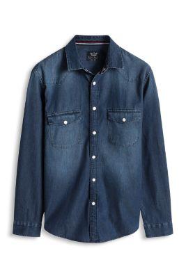 Chemise en jean 100 % coton