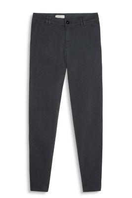 Chino doux en coton stretch