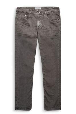 Twill broek van katoenstretch