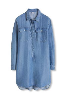 Robe en jean fluide