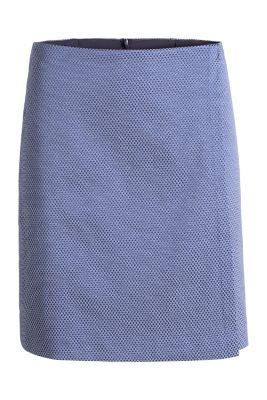 Mini-jupe à effet portefeuille